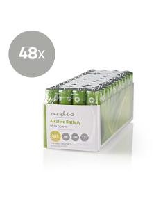 BATTERY ALKALINE AAA 1.5 V 48pz