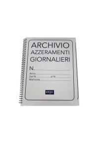 REGISTRO DARE-AVERE A SCALARE 96 PAGINE 24X17 cm.