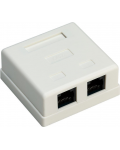 RJ45 CAT 6 UTP NETWORK CONNECTION SOCKET 2 GATEWAY
