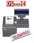 STAMPANTE FISCALE TELEMATICA EPSON FP-81II - RT -ETH