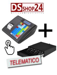 REGISTRATORE DI CASSA TELEMATICO FASY WIND 3/ SYSTEM RETAIL SYS TOUCH CENTO 2.0 CON CASSETTO