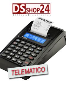 REGISTRATORE DI CASSA TELEMATICO FASY MIA / SYSTEM RETAIL JSMART RT