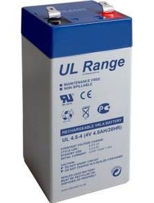 BATTERIA AL PIOMBO ULTRACELL 4 V, 4,5Ah (UL4.5-4)