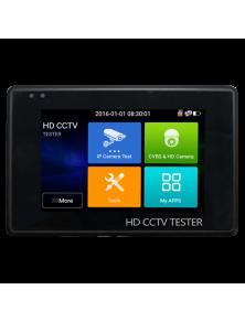 TESTER CCTV SUPPORT HDTVI, HDCVI  AHD CVBS e IP 4K