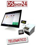 OLIVETTI POS 50 TOUCH + STAMPANTE FISCALE PRT 80FX