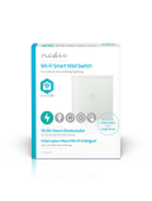 INTERRUTTORE DA PARETE SMART Wi-Fi SINGOLO