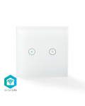 WALL SWITCH  SINGLE SMART Wi-Fi DOUBLE