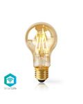 LAMPADINA CON FILAMENTO LED WiFi Smart  E27  A60