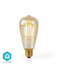 LAMPADINA CON FILAMENTO LED WiFi Smart  E27  ST64