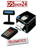 STAMPANTE TELEMATICA CUSTOM  / SYSTEM RETAIL TASTIERA / DISPLAY  Q3X F RT