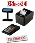 STAMPANTE TELEMATICA SYSTEM RETAIL / CUSTOM TASTIERA E DISPLAY  K3 F RT