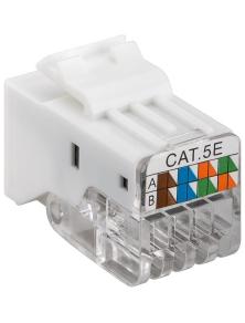 PRESA KEYSTONE CAT 5e RJ45 UTP 100 MHz