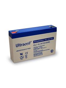 BATTERIA AL PIOMBO ULTRACELL RICARICABILE 6 V, 7 Ah - UL7-6