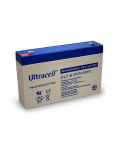 LEAD ACID BATTERY  ULTRACELL S 6 V, 7 Ah UL7-6