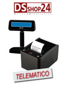 OLIVETTI PRT 350FX STAMPANTE TELEMATICA DISPLAY / TASTIERA