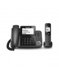 TELEPHONE PANASONIC C KX-TGF310EXM  + CORDLESS KX-TGD310JTB BLACK