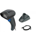 DATALOGIC QUICKSCAN BAR CODE READER QD2400 2D KIT WITH USB CABLE AND STAND