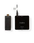 EXTENDER WIRELESS HDMI  1080p  5 GHz  30 m  DONGLE PORTATILE
