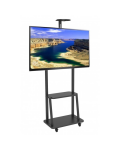 FLOOR STAND WITH SHELF FOR LCD / LED / 37-70
