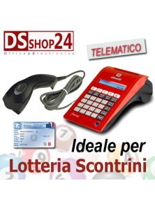 REGISTRATORE DI CASSA OLIVETTI TELEMATICO FORM 100 LOTTERIA SCONTRINI