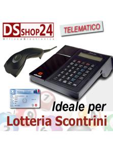 REGISTRATORE DI CASSA TELEMATICO OLIVETTI FORM 200  LOTTERIA SCONTRINI