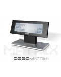 DISPLAY FOR CASH REGISTER PRINT F MCT / RCH  D320 MATRIX