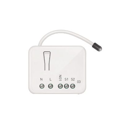 ZIPATO MICRO WIRELESS MODULE TO MANAGE A LOAD (MAX 1X2.5 KW)