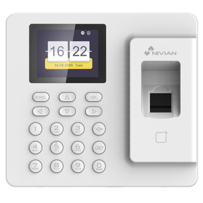 NIVIAN ACCESS STANDALONE BIOMETRIC READER TIMECONTROL-IP