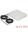 ANTENNA LTE MIMO SMA 8dBi CABLE RG58 10 m