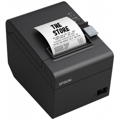 EPSON TM-T20III RS232 / USB BLACK CUTTER+PS180