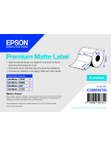 ROTOLO ADESIVO CARTA PREMIUM EPSON  6PZ  -   76MMX51MM