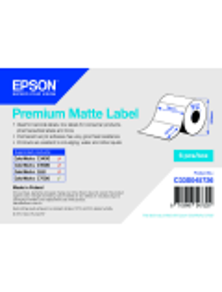 ROTOLO ADESIVO CARTA PREMIUM EPSON  6PZ  - 76MMX127MM