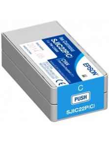 CARTUCCIA EPSON CIANO PER C6500 / C6000  SJIC36P