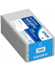 EPSON CYAN CARTRIDGE FOR C6500 / C6000 SJIC36P