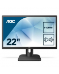 MONITOR AOC LED 21.5 WIDE 22E1D - MULTIMEDIALE VGA DVI HDMI