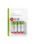 RECHARGEABLE BATTERIES AA 1.2 V 1300 mAh - 4PZ