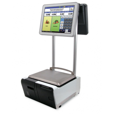 HELMAC SCALE TOUCH SCREEN UNI9 ELEVATED series
