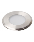 RECESSED FLOOR LED SPOTLIGHT 1W PASSY ROUND