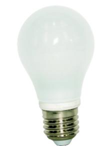 LAMPADINA LED GOCCIA 360° E27 6W LUCE CALDA 3000K