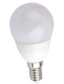 LAMPADINA LED MINI GOCCIA E14 6W LUCE FREDDA 6500K