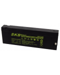 BATTERY WITH RECHARGEABLE LEAD SKB SK12 - 2,3