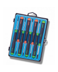 SET 8 PRECISION SCREWDRIVER CROSS CUT