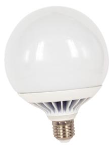 LAMPADINA LED GLOBO 120mm. E27 18W LUCE CALDA 3000K