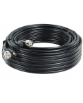 CABLE SYSTEMS OF VIDEO SURVEILLANCE FROM 20 M COAX WITH DC POWER
