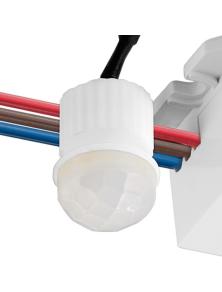 Sensore di Movimento LED Mini Infrarossi da Incasso
