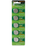 BUTTON LITHIUM BATTERY 2032 5PZ