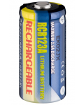 BATTERIE RICARICABILE  AL LITIO CR123A 500 mAh