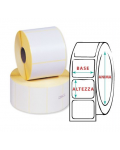 LABELS IN THERMAL PAPER VELLUM -1000 LABELS 100X50