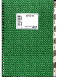 SCADENZE GENNAIO-DICEMBRE 24X17 cm