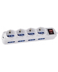 12 MULTI-POSITION WHITE WITH CABLE AND SWITCH